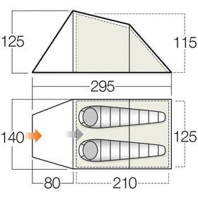 Vango Spey 200 - Tente - vert